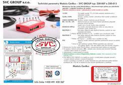 Miniaturní model III generace pro 13 P elektroinstalaci  tažné zařízení  Modul neodpojuje parkovací senzory PDC