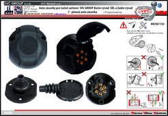 Auto zásuvky 7 pólů pro tažné zařízení  www.svcgroup.cz