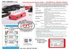 Tažné zařízení modul elektro přípojky UNI