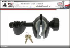 držák rámu kola a nosiče kol set propojovací páky dlouhý 205mm  pro tažné zařízení