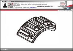 Ochrana ráfku kola pro nosiče kol SVC RACE