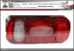 Sklíčko světla pro výměnu na nosičích kol Pravé světlo  Výrobce tažných zařízení
