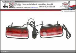 Držáky světel pro nosiče kol na tažné zařízení SVC VIP RACE