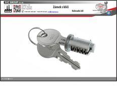 Náhradní zámek s klíči pro nosiče kolna tažné zařízení.