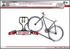 Nakládací rampa pro usnadnění naložení kola