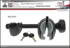 Držák rámu kola a nosiče kol set propojovací páky dlouhý 385mm  pro tažné zařízení