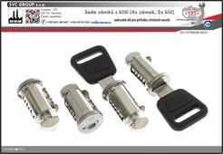 Náhradní sada zámků a klíčů   Český výrobce tažných zařízení SVC GROUP