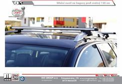 příčník na hagusy střešní nosič oválný Dodavatel tažných zařízení SVC GROUP