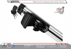 příčník na střešní nosič oválný Dodavatel tažných zařízení SVC GROUP