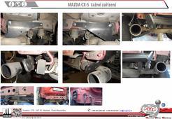 Tažné zařízení Mazda CX5 odborná montáž Servis Vitver Centrum