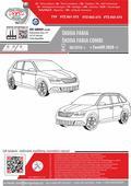 Montážní instrukce obrázkový návod na eshopu výrobce tažných zařízení pro Škoda Fabia SVC GROUP