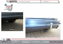 Ford Focus tažné zařízení na bajonet  od českého výrobce svc group