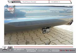 Ford Focus tažné zařízení demontovaný čep z vozu od českého výrobce svc group