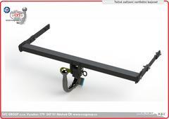 tažné zařízení Ford Focus originální výrobek vertikální bajonet  od českého výrobce svc group