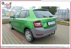 Škoda Fabia tažné zařízení  2019