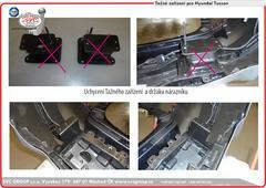 Kia Sportage výměna držáku nárazníku tažný zařízení  Český výrobce tažných zařízení