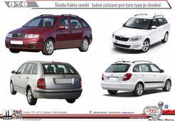 Škoda Fabia Kombi 1999 ->12/2014