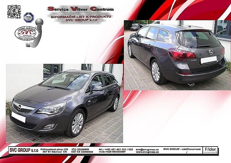 Opel Astra J - Kombi