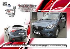 Mazda CX5 tažné zařízení výroby: 11/ 2011 ->04/ 2017 Výrobce tažných zařízení SVC GROUP