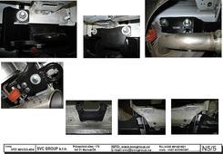 Odborná montáž Land Rover Evoque tažné zařízení na pevno Český výrobce www.svcgroup.cz