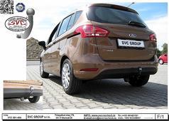 Ford Bmax tažné zařízení na dva šrouby Český výrobce SVC GROUP