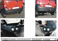 Tažné zařízení Bajonet SVC Náchod Opel Agila 5/2002