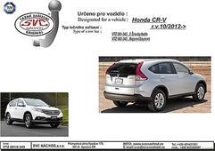 Tažné zařízení Bajonet SVC Group Honda CR-V 11/2012-
