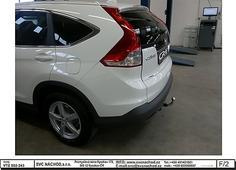 Odborná montáž tažných zařízení Honda CR-V 11/2012-