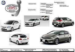 Tažné zařízení Bajonet SVC Group Toyota Auris E-15 10/2006 09/2012