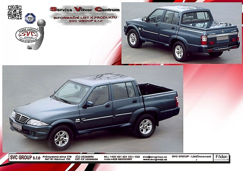 Ssang Yong Musso Sport Pick-up