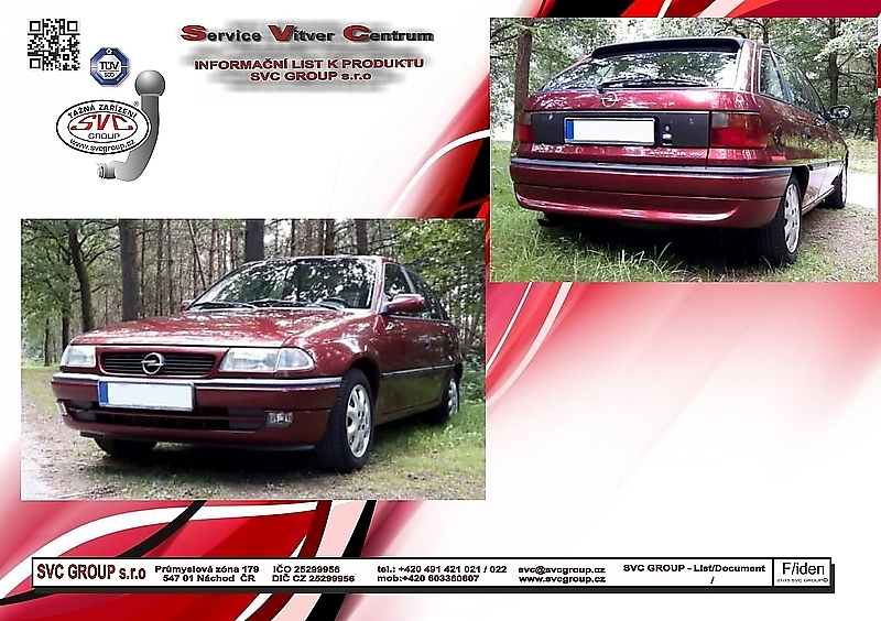 Opel Astra F - Hatchback