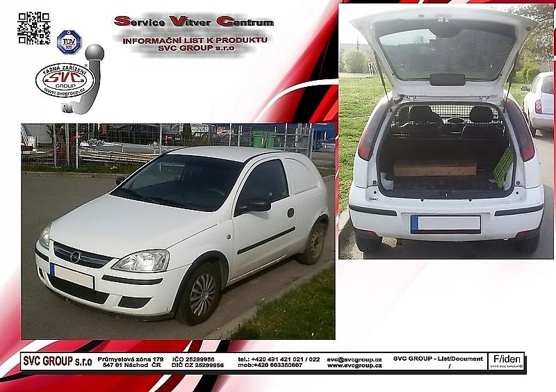 Opel Corsa C - Van / Dodávka