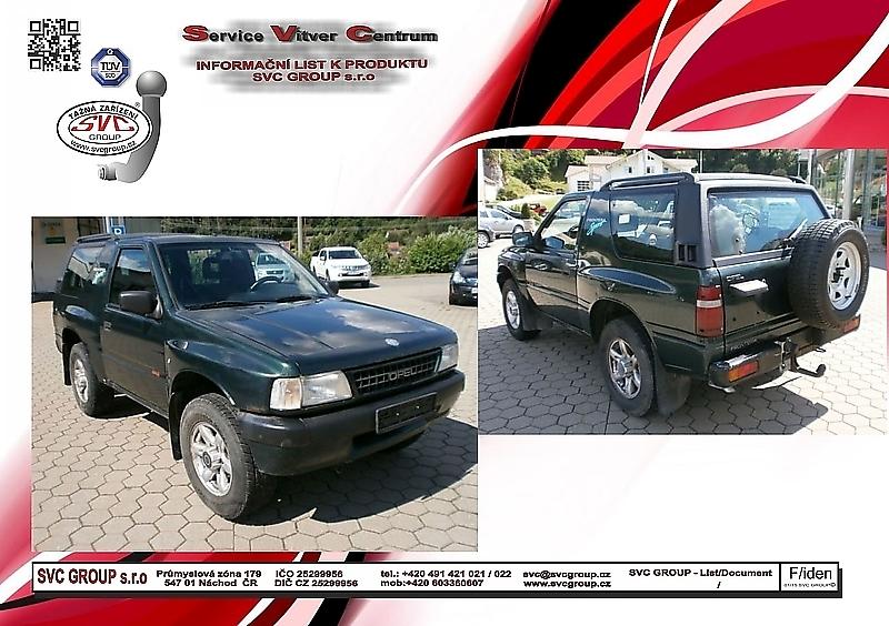 Opel Frontera A UT2