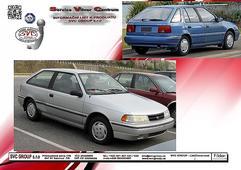 TažnýzařízeníHyundaiExcelHB19941999SVCGrouplevně HyundaiExcelHB Provedení:2šrouby Rokvýroby:07/1994-08/1999