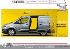 Opel Combo Krátké obrázek pro rozlišení vozu  Tažné zařízení od SVC Group