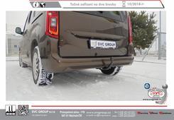Peugeot Reifter MPV / Partner L-1 levné tažné zařízení     verze MPV + L1 délka vozu 4400 mm     Provedení: 2 šrouby    Rok výroby: 10/2018 -  Výrobce tažných zařízení