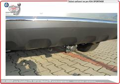 Kia Sportage  Tažné zařízení na Bajonetové  demontovaný čep  Rok výroby: 08/2018 - Český výrobce