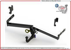 tažné zařízení originální obrázek       Vertikální bajonet  Hyundai  Český výrobce Tažných zařízení