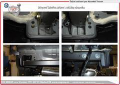 Hyundai Tucson montáž  Tažné zařízení Šroubové detail  Rok výroby: 07/2018-> od českého výrobce