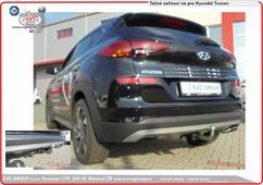 Hyundai Tucscon  Tažného zařízení na bajonetové  Rok výroby: 07/2018 - Český výrobce
