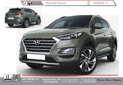 Hyundai Tucscon Tažnéhé zařízení