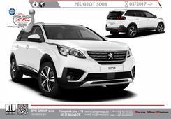 Peugeot 3008 provedení na dva šrouby  rok výroby 03/ 2017 -> Český výrobce tažných zařízení SVC GROUP