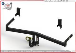 Kia Ceed tažná zařízení  Originální SVC Group     Provedení: napevno 2 šrouby     Rok výroby: 2018 -