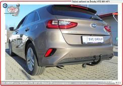levná tažná zařízení Kia Ceed Výrobce SVC Group   Provedení: 2 šrouby    Rok výroby: 2018 -