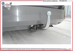 tažné zařízení Škoda Fabia   08/2018->  DETAIL BAJONETOVÉHO TAŽNÉHO ZAŘÍZENÍ   Výrobce SVC GROUP