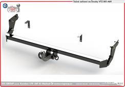 Tažné zařízení KIA Ceed Combi Originální výrobek SVC Group