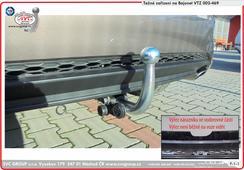 Tažné zařízení Kia Ceed Combi  Provedení: Bajonet    nasazený kulový čep Rok výroby: 07 / 2018 výrobce tažných