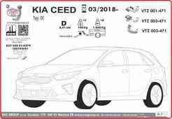 Kia Ceed informace pro odbornou montáž v návodě výrobce tažných zařízení