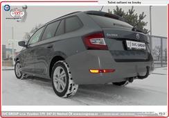 Škoda Fabia combi tažné zařízení  od 08/ 2018 ->  faceliftovaná verze odrazky v nárazníku
