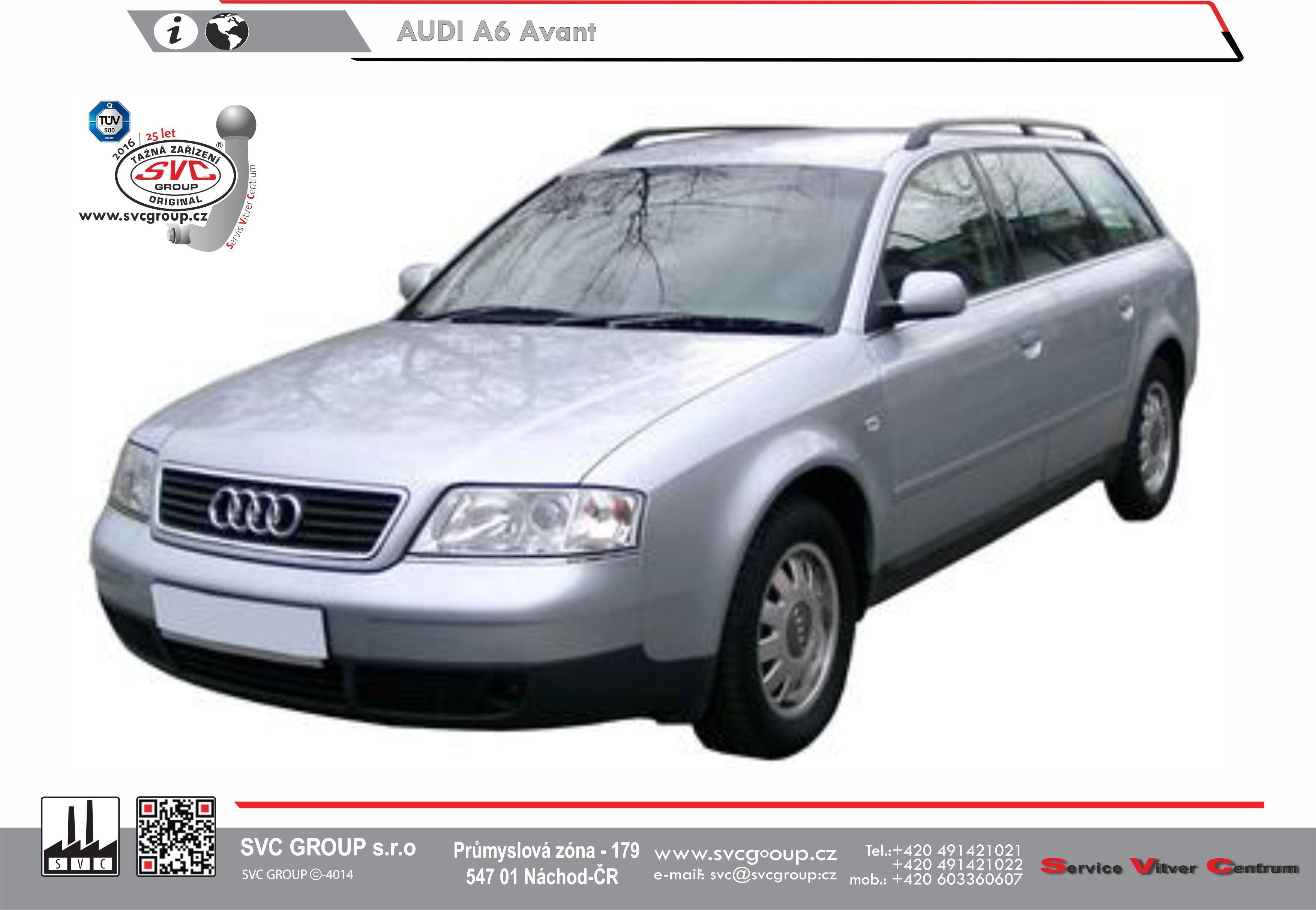 Audi A6 Kombi Quattro 4x4 (97->04)